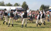 Tanzvorführung der polnisch-lemkischen Folkloregruppe Kyczera (Foto: Cornelia Mäser, BRV)