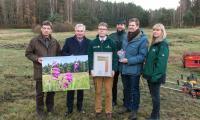 Urkundenübergabe Deutschlands Naturwunder 2017_Foto: Bodo Hering (Biosphärenreservatsverwaltung)